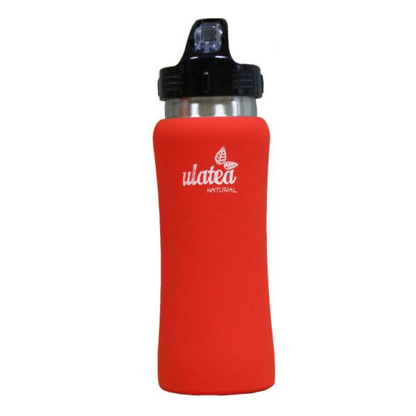 Спортна бутилка за чай, червена - Ulatea Sport Bottle