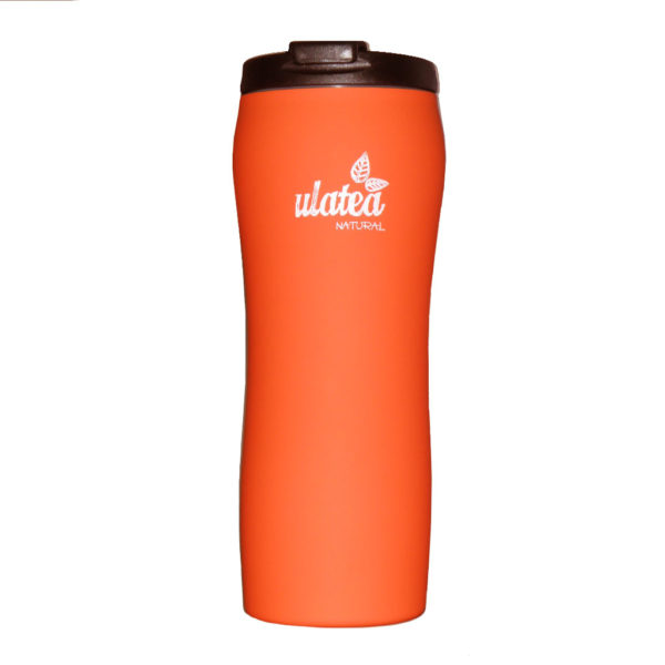 Термочаша за чай, оранжева - Ulatea Travel Mug