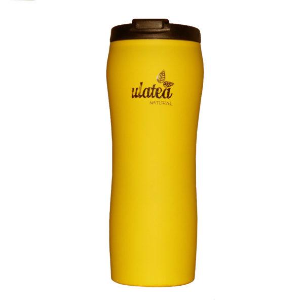 Термочаша за чай, жълта - Ulatea Travel Mug